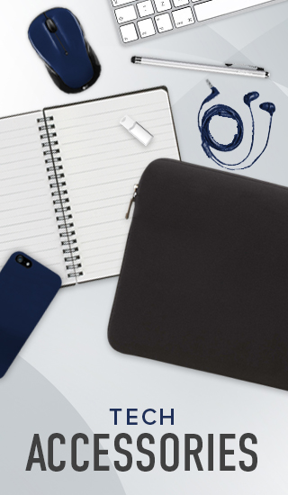 Picture of tech accessories. Click to shop Tech Accessories.